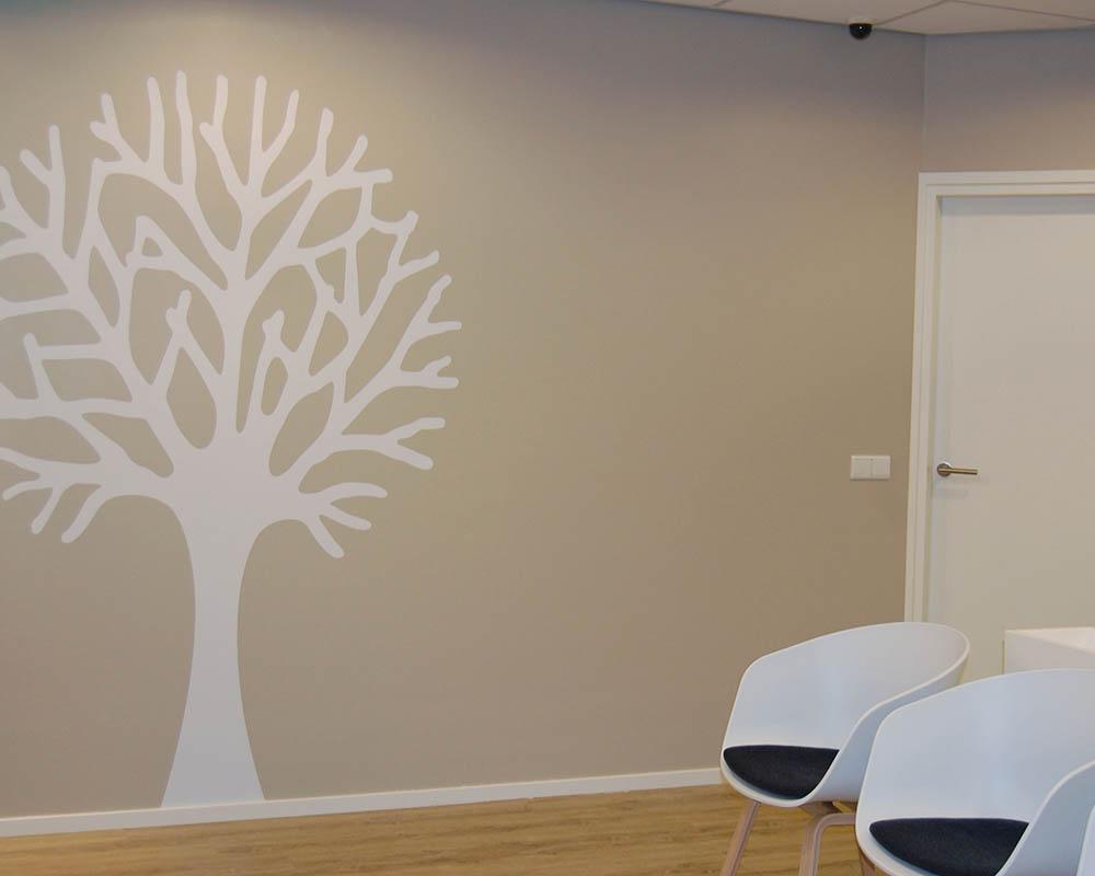 Huisartspraktijk Baexem wachtkamer